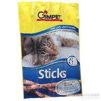 Gimpet Sticks Alabalıklı Somonlu Kedi Ödül Çubukları 4 Parça 20 Gr