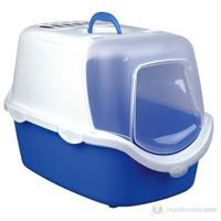 Trixie kedi kapalı tuvalet, 40×40×56cm, mavi