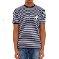Köstebek Alien Çizgili Et656 Erkek T-Shirt
