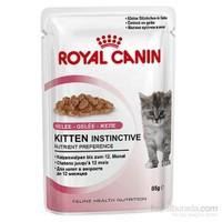Royal Canin Jelly Kitten Instinctive Yaş Yavru Kedi Maması 85 Gr x 12