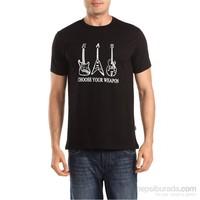 Köstebek Choose Your Weapon 3 Guitar Erkek T-Shirt