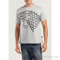 Köstebek Game Of Thrones-Stark Erkek T-Shirt