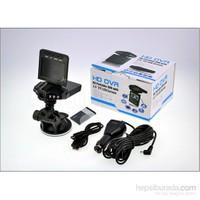 """Kingshark KS-521 HD-DVR 2.5"""" 6 Ledli Gece Görüşlü Araç İçi Kamera"""