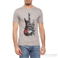 Köstebek Peace Guitar Erkek T-Shirt