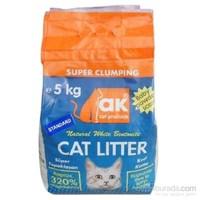 Akkum Kalın Taneli Kedi Kumu 5 kg
