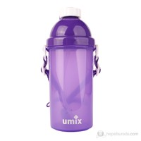 UMIX Plastik Matara 500ml Mor