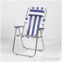 Muhtelif Vural Katlanır Kamp Piknik Koltuğu Sandalyesi Yastıklı-Nz8