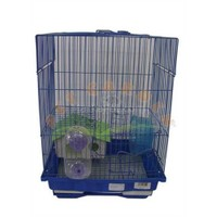 Dayang Hamster Kafesi Aksesuarlı 30X23x41