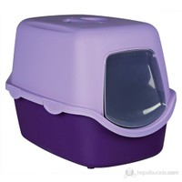 Trixie kedi kapalı tuvaleti, 40x40x56cm Mor \Eflatun