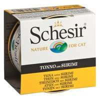 Schesir Cat Jelly Ton Balıklı Ve Surimi Kedi Konservesi 85 Gr