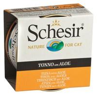 Schesir Cat Jelly Ton Balıklı Ve Aloeveralı Kedi Konservesi 85 Gr