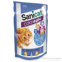 Sanicat Color 4 You Blue Doğal Kedi Kumu 5 L