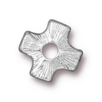 Tierra Cast Rivetable 1 Adet 11.0 Mm Gümüş Rengi Çarpı Takı Ara Aksesuarı - 94-5799-61