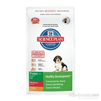 Hill's Science Plan Tavuklu Orta Irk Yavru Köpek Maması 3 Kg (Puppy Healthy Development Medium with Chicken)
