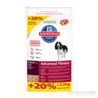 Hill's Science Plan Kuzu Etli Pirinçli Yetişkin Köpek Maması 14,5 Kg Bonus Bag (Adult Advanced Fitn gk