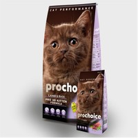 Prochoice Pro 38 Kuzulu Pirinçli Yavru Kedi Kuru Mama 15 Kg
