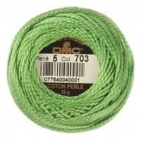 Dmc Koton Perle Yumak 10 Gr Yeşil No:5 - 703
