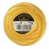 Dmc Koton Perle Yumak 10 Gr Sarı No:5 - 725