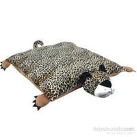 Ranna Leopar Şeklinde Kedi Köpek Yatağı - 60 x 50 x 10 cm