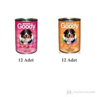 Goody Köpek Konservesi Karışık 24'lü 415 Gr