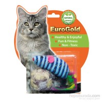 Eurogold Mat Top & Tüylü Fare 2'Li Kedi Oyuncağı