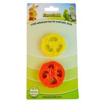 Eurogold Kuşlar Ve Kemirgenler İçin Yenilebilir Meyve Dilimi 2 Li