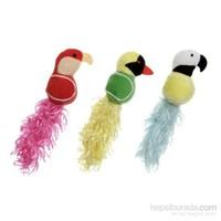 Karlie-Flamingo Peluş Kuş Oyuncak Sarı Tüylü