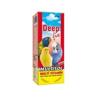 Deep Fix Multisol (Kuşlar İçin Multi-Vitamin) 30 Ml.
