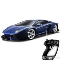 Maisto Lamborghini Avendator Lp700-4 Uzaktan Kumandalı Araba 1:10 Maisto Tech Lacivert