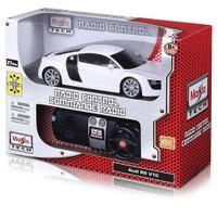 Maisto Tech 1:24 Audi R8 V10 2009 U/K Araba Beyaz
