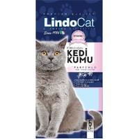 LindoCat Dogal Bentonit Kedi Kumu Parfümlü 5Lt (İnce Taneli Topaklaşan) fd*