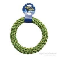 Happy Pet Nk 16257 Yeşil Renkli Halka Köpek Diş İpi