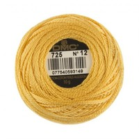Dmc Koton Perle Yumak 10 Gr Sarı No:12 - 725