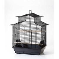 Qh Pet Cage Papağan Kafesi Karışık Renkli (46.5 X 36 X 66)