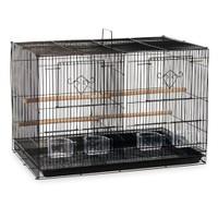 Qh Pet Cage Kafes Çifthane Kanarya Siyah 61X41x41 (6)