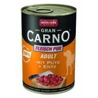 Animonda Gran Carno Hindi Ve Ördek Etli Yetişkin Köpek Konservesi 6 X 400 gr