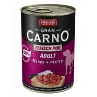 Animonda Gran Carno Sığır Eti Ve Yürekli Köpek Konservesi 400 Gr
