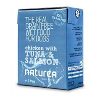 Naturea Tahılsız Tavuk, Ton Balığı Ve Somonlu Köpek Konserve 375 Gr
