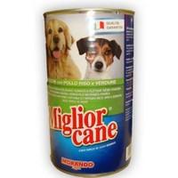 Miglior Cane Tavuklu, Pirinçli Ve Sebzeli Katkısız Köpek Konserve 1250 Gr
