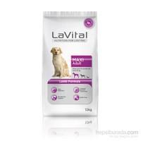 La Vital Dog Maxi Adult Lamb Büyük Irk Kuzu Etli Yetişkin Köpek Maması 12 Kg