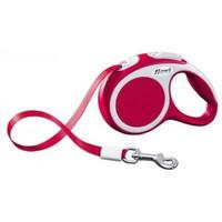 Flexi Vario Şerit Tasma 5 Metre 15 Kg Kırmızı