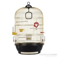 Ferplast Diva Sarı - Pirinç Kuş Kafes