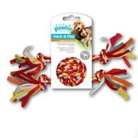 Pawise Renkli 2 Düğümlü İp Top Köpek Oyuncağı 25 Cm