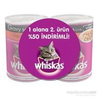 Whiskas Sığır Etli yaş Kedi Konservesi 400 gr 2'li Avantaj Paket gk