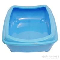 Aristos Tray Açık Kedi Tuvaleti Mavi