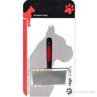 Luxury Paws Plastik Saplı Metal Fırça Small 13 Cm