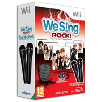 Nintendo OYUN Wii We Sing Rock with 2 Mikrofon