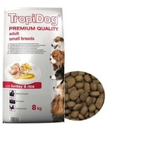 Tropidog 57047 Premium Adult Small Breed Turkey&Rıce 8 Kg