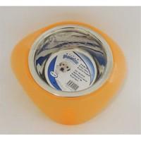 Ss Bowl Plastic Stands - Mama Kabı 450Ml (Turuncu)