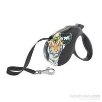 Ferplast Amigo M Tape Decor Tiger Otomatik Köpek Gezdirme Kayısı